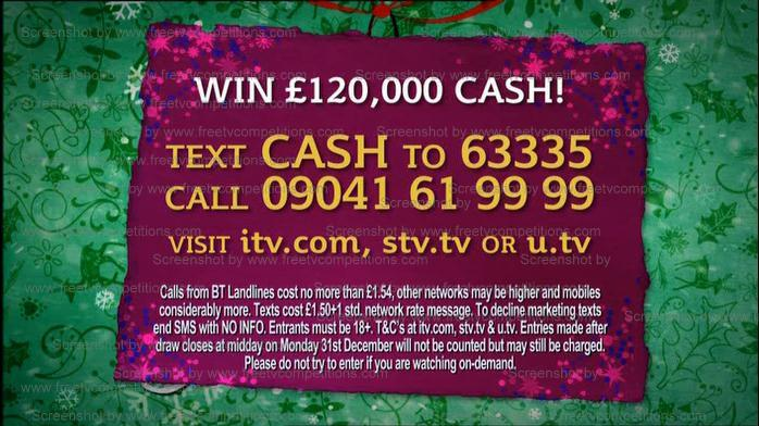 This Morning Competition ITV Free Entry December 2012