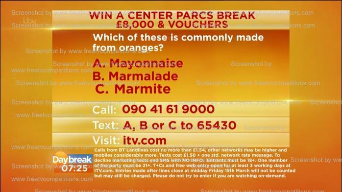 lorraine-competition-question-answer-free-entry-valid-to-21st-march-2013
