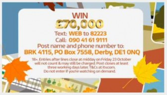 good morning Britain-competition-itv-£70,000 prize daw