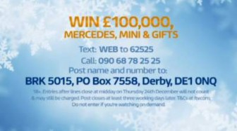 prize draw Good Morning Britain 100000 cash cars and gifts