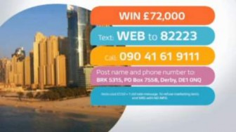 ITV Good Morning Britain competition £72000