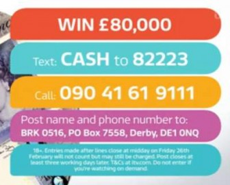 Good Morning Britain Competition £80,000