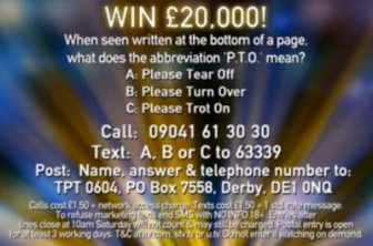 Tipping Point Competition £20000