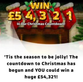 £54321 competition ITV