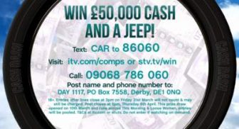 Loose Women Competition Jeep & £50,000 cash prize draw