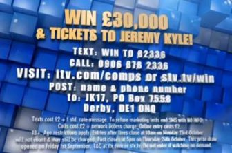 Jeremy Kyle Competition