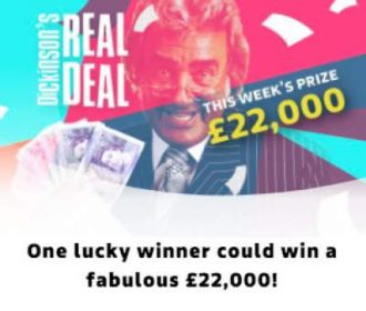 Real Deal Competition £22,000 ITV