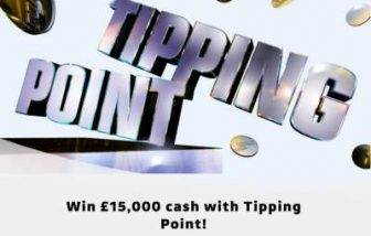 Tipping Point Prize £15,000 ITV