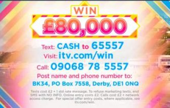 Lorraine £80,000 competition