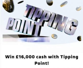 Tipping Point Prize Draw £16,000 2021