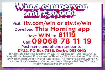 Loose Women VW Campervan Competition