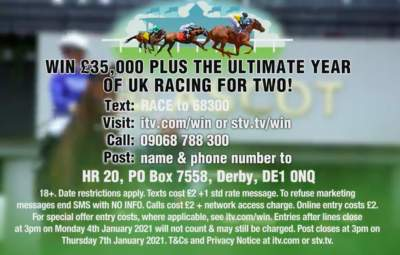 Horse Racing Competition ITV 2020 to 2021