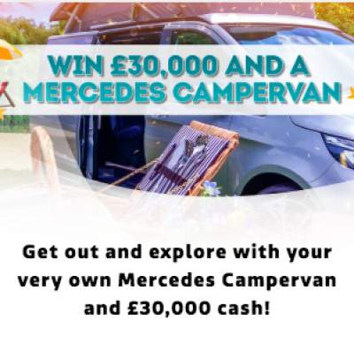 Lorraine Mercedes Campervan Competition entry details 2018
