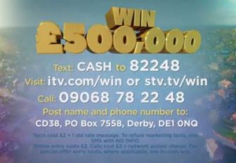 itv competition winners online betting