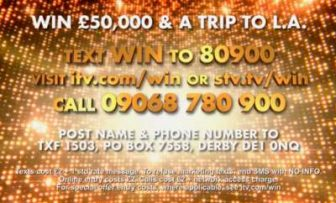 Win a Holiday Trip to LA and £50,000 in Cash with The X