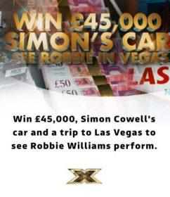 X-FactorPrize £45,000 ITV