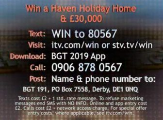 Britain's Got Talent Holiday Home Competition