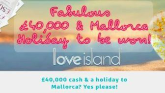 ITV Love Island prize competition 2019