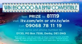 Loose Women BMW Prize ITV