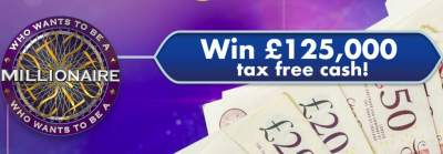 Who Wants To Be a Millionaire? Prize ITV 2019