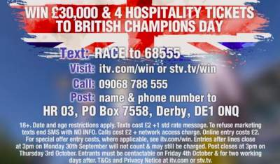 ITV Horse Racing Competition £30,000