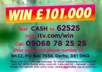 Lorraine £101,000 prize 2019