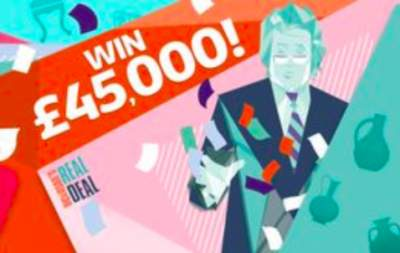 ITV Dickinson's Real Deal Prize £45,000