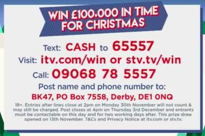 Lorraine Christmas Prize 2020