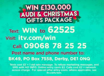 Lorraine Christmas Competition 2019