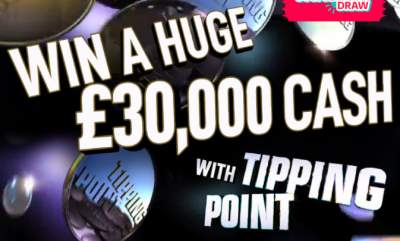 Tipping Point Prize £30,000