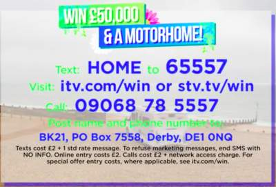 Good Morning Britain motorhome prize ITV