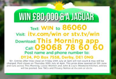 ITV free competitions
