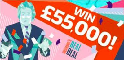 Dickinson's Real Deal Prize £55,000 ITV