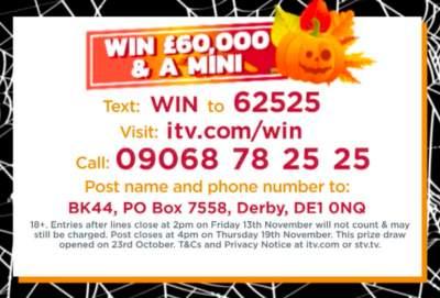 Lorraine Mini Prize ITV