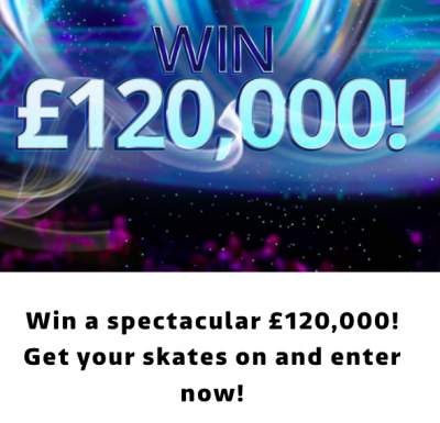 Dancing On Ice Competition £120,000 ITV