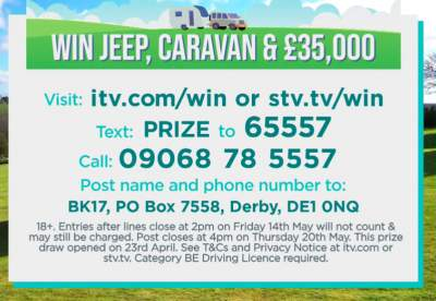 Good Morning Britain Jeep Prize ITV 2021
