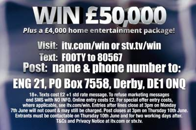 ITV Sport Competition Prize 2021