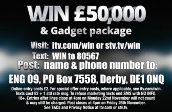 ITV Sport Viewers Prize £50,000