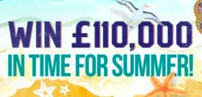 Lorraine £110,000 Competition ITV