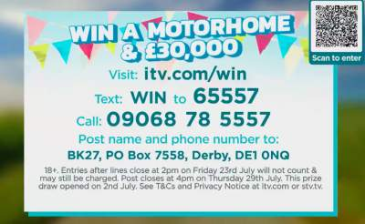 Good Morning Britain Motorhome Competition ITV 2021