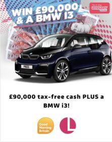 Lorraine BMW Prize Entry Details